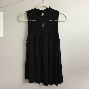 NWOT Apartment 9 tank top black extra small /small